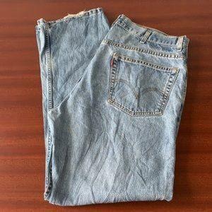 Vintage men's 505 Levi's mom jeans